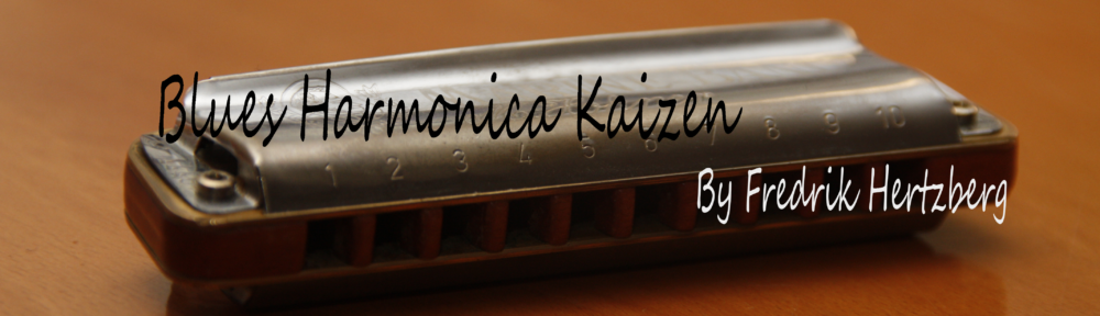 Blues Harmonica Kaizen - Play a little better every dayBlues