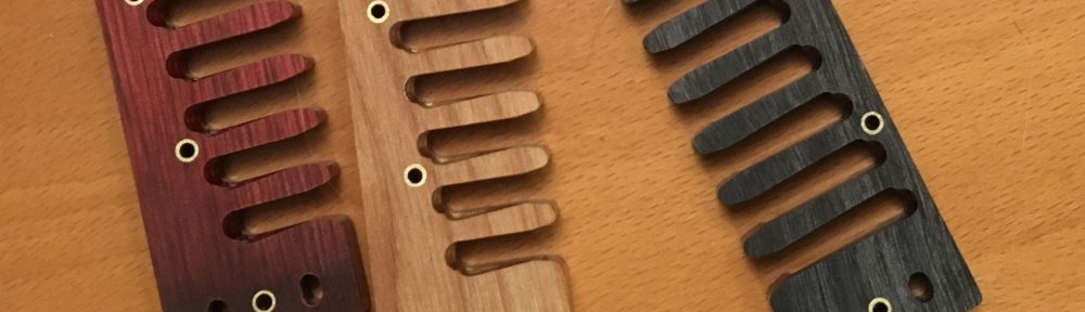 custom harmonica comb options