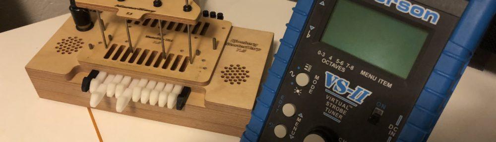 harmonica tuning equipment