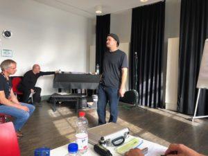 Joe Filisko at Harmonica Masters workshops 2018