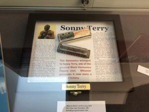 harmonica masters workshops 2018, sonny terry harmonica